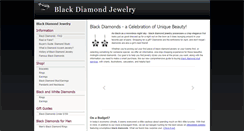 Preview of blackdiamondjewelry.org