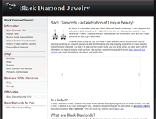 Tablet Preview of blackdiamondjewelry.org